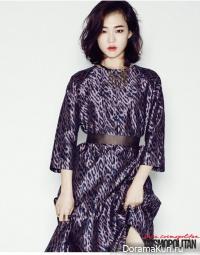Han Ye Ri для Cosmopolitan December 2014