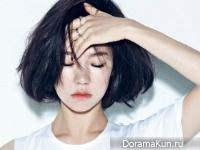 Han Ye Ri для Nylon August 2014