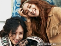 Jung Ryu Won, Han Ye Seul для Cosmopolitan September 2015 Extra