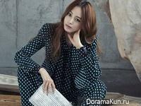 Han Ye Seul для Singles October 2015