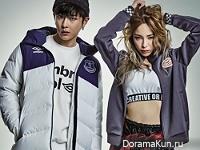 Junhyung (BEAST), Heize для The Star December 2015