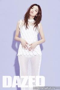Hong Hyo для Dazed June 2015