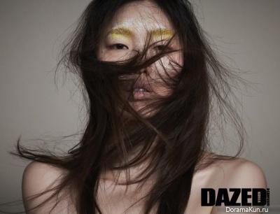 Hwang Gi Ppeum для Dazed and Confused 2015