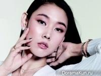 Hye Jin Han для InStyle September 2014