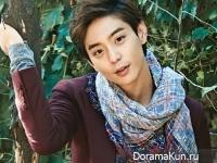 Hyun Woo для SURE November 2014