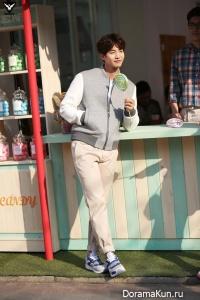 Song Jae Rim, IU для SBENU S/S 2015