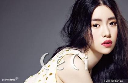 Im Ji Yeon для CeCi Magazine July 2014