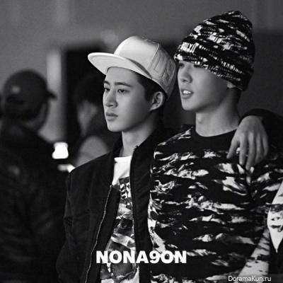iKON (Bobby, B.I) для NONAGON 2015 CF