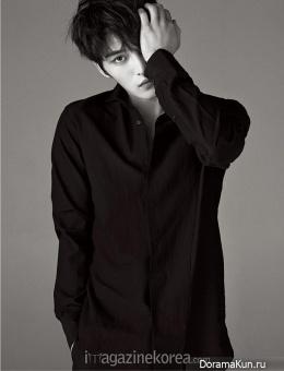 JYJ (Jaejoong) для Harper's Bazaar February 2015 Extra