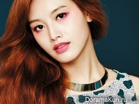Rainbow (Jaekyung) для Nylon August 2014