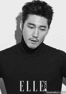 Jang Hyuk для Elle Korea October 2015