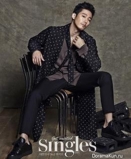 Jang Hyuk для Singles September 2015