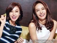 Jang Young Nam, Park Jung Ah для Woman Sense December 2015