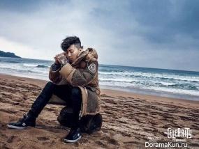 Jay Park для The Celebrity December 2015