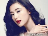 Jeon Ji Hyun для InStyle March 2015
