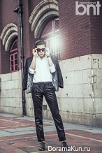 Ji Chang Wook для BNT International September 2014