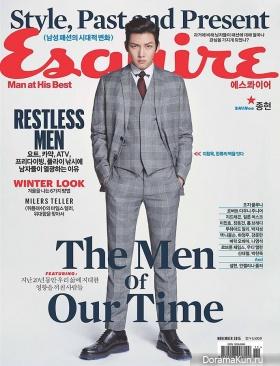 Ji Chang Wook для Esquire Korea November 2015
