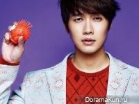 Ji Hyun Woo для The Celebrity December 2014
