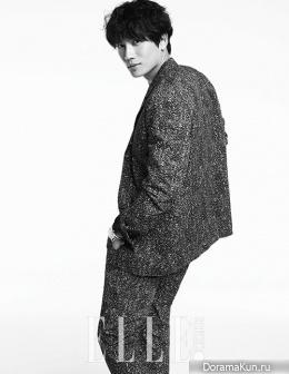 Ji Sung для Elle Korea May 2015 Extra