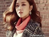 Jo Bo Ah для InStyle November 2014 Extra