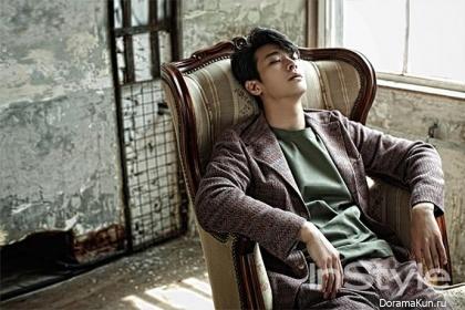 Joo Ji Hoon для InStyle Korea May 2015