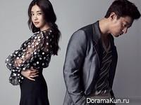 Joo Jin Mo, Kim Sa Rang для Elle June 2015 Extra