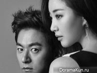 Joo Jin Mo, Kim Sa Rang для Elle June 2015