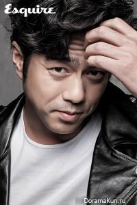 Jun Suk Ho для Esquire 2015