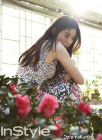 Jung Eun Chae для InStyle January 2015