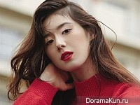 Jung Eun Chae для Singles November 2015