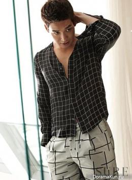 Jung Gyu Woon для SURE August 2015