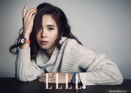 Jung Hye Young для Elle December 2014