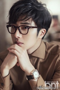 Jung Il Woo для BNT International November 2014