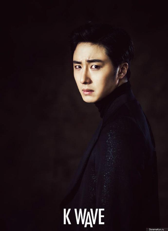 Jung Il Woo для K Wave December 2014 Фотосессии