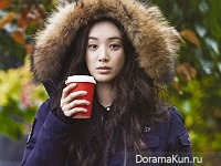 Jung Ryu Won для Grazia December 2015 Extra