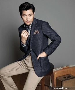 Jung Woo Sung для BRUNO BAFFI Fall 2014 CF