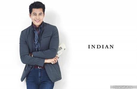 Jung Woo Sung для INDIAN F/W 2015