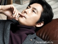 Jung Woo Sung для INDIAN Fall 2014 CF