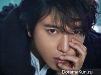 Jung Yong Hwa (CN Blue) для W Korea January 2015