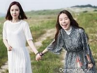Kan Mi Youn, So Yi для The Celebrity August 2015