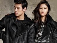 AOA (Seol Hyun), Kang Ha Neul для Buckaroo F/W 2014 CF