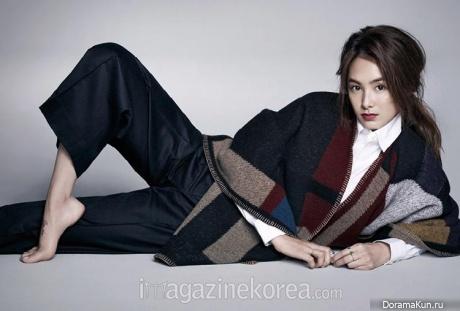 Kang Hye Jung для Harper's Bazaar December 2014 Extra