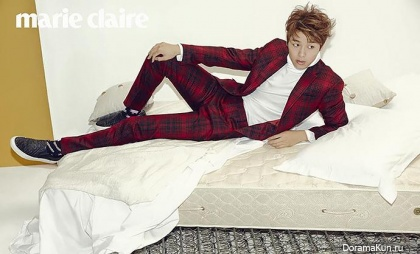 CNBLUE (Kang Min Hyuk) для Marie Claire October 2015