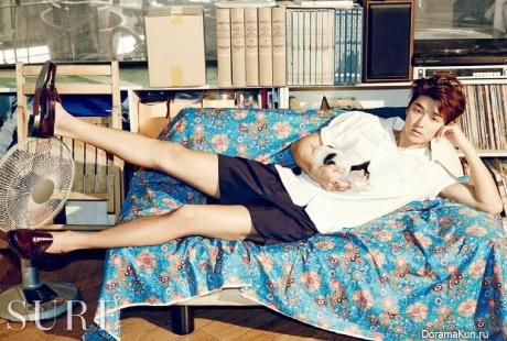 CN Blue (Kang Min Hyuk) для SURE June 2015