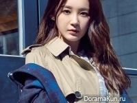 Davichi (Kang Min Kyung) для Allure October 2014