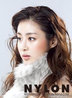 Kang So Ra для NYLON December 2014