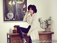 Kang Ye Won для InStyle December 2015