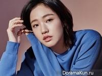 Kim Go Eun для InStyle March 2015