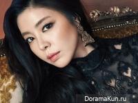 Kim Gyu Ri для InStyle January 2015