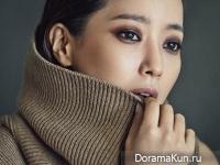 Kim Hee Sun для Marie Claire November 2014